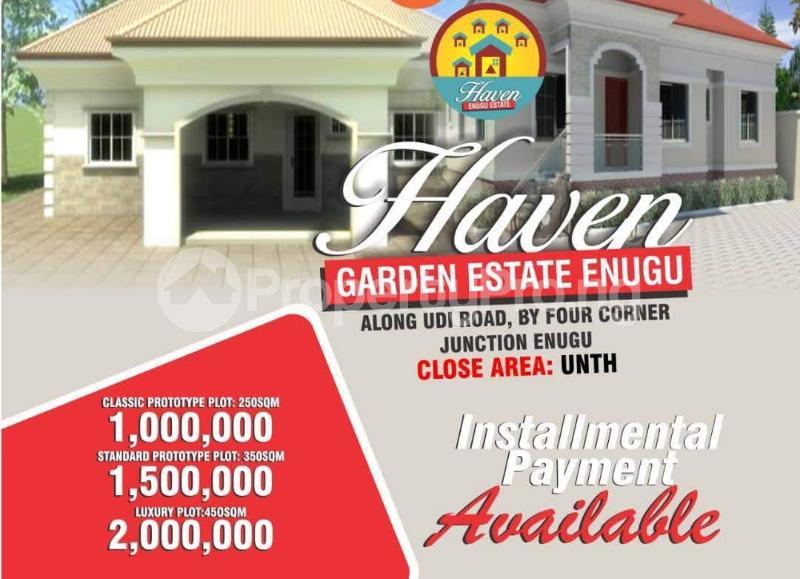 Residential Land Land for sale Along UDI Road by Four Corner Junction, Enugu Udi Agwu Enugu - 0