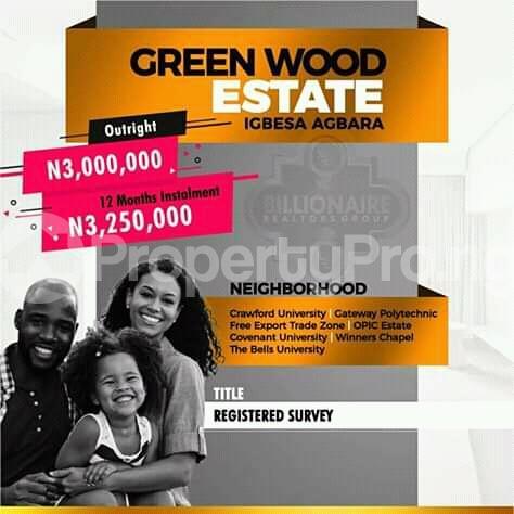 Mixed   Use Land for sale Igbesa Agbara Agbara-Igbesa Ogun - 0