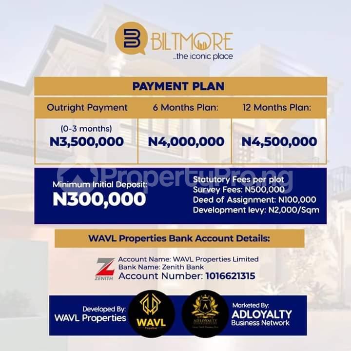 Land for sale *Bolorunpelu - Opposite The New Lekki International Airport, Ibeju - Lekki* Free Trade Zone Ibeju-Lekki Lagos - 3