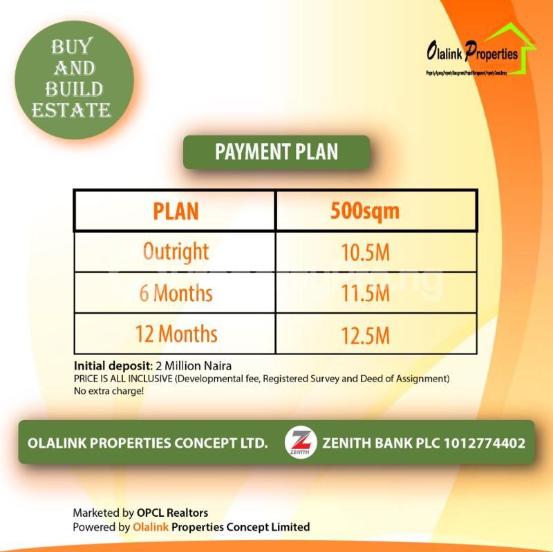 Residential Land Land for sale Opposite Eko Akete in Abijo GRA  Lekki Lagos - 1