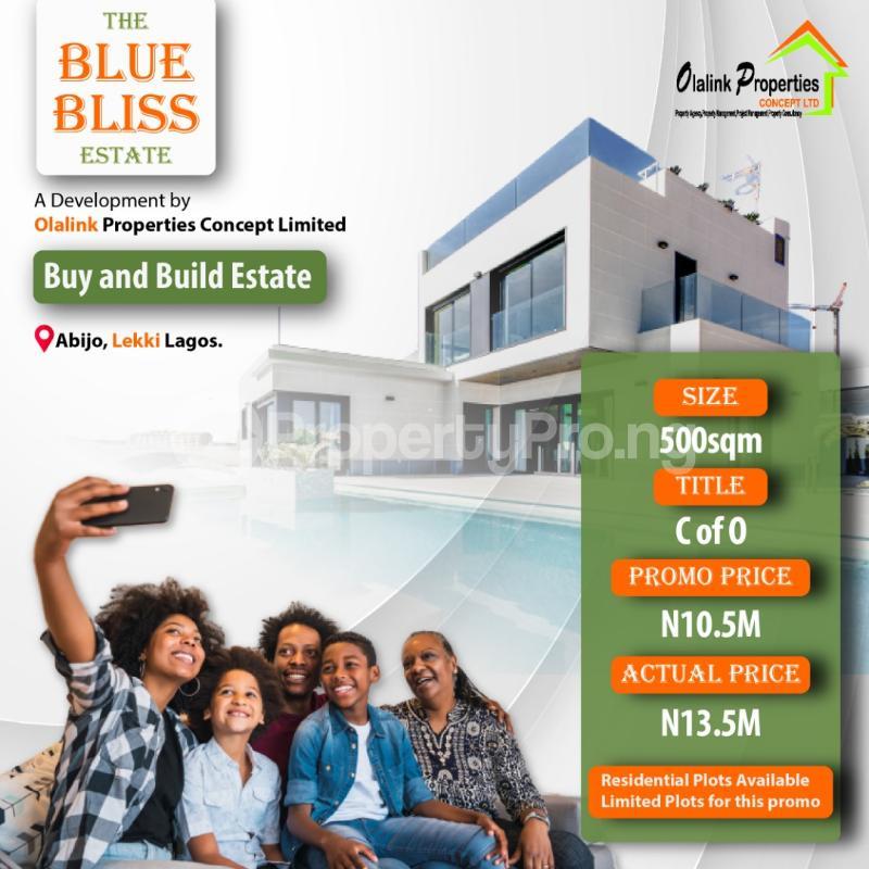 Residential Land Land for sale Opposite Eko Akete in Abijo GRA  Lekki Lagos - 0