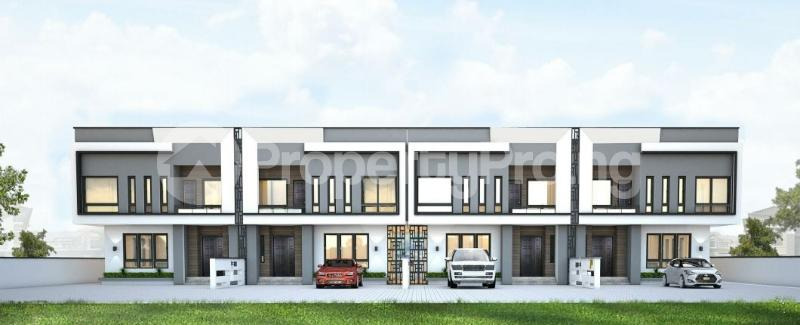 4 bedroom Terraced Duplex House for sale 4 Bedroom terrace Duplex in paragon meridian boulevard Estate Okun Ajah Ajah Lagos - 0