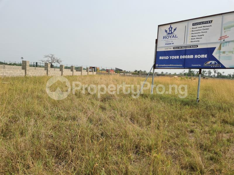 Mixed   Use Land Land for sale 5 Minutes From La Campagne Tropicana, Folu Ise Community Ise town Ibeju-Lekki Lagos - 1