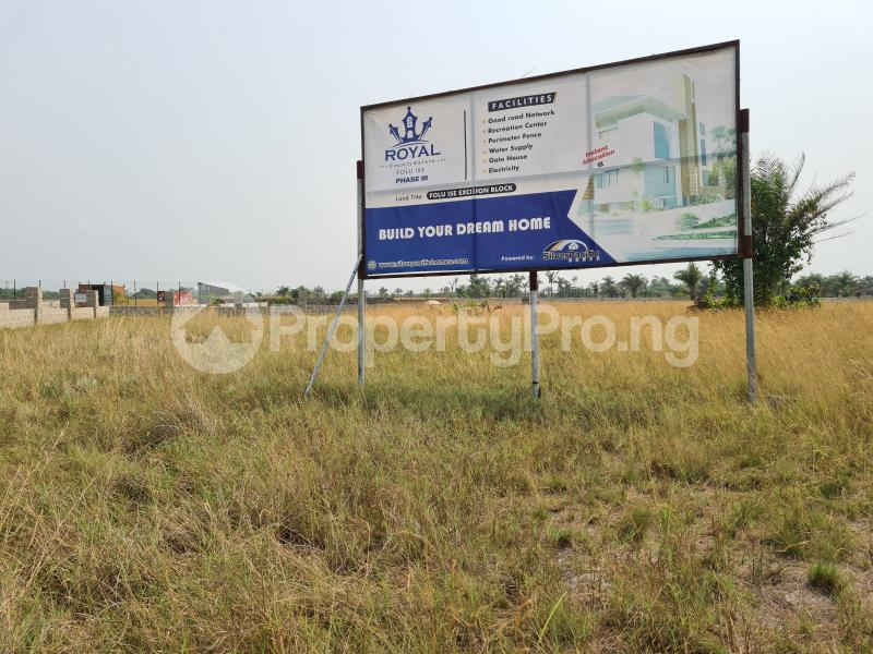 Mixed   Use Land Land for sale 5 Minutes From La Campagne Tropicana, Folu Ise Community Ise town Ibeju-Lekki Lagos - 2