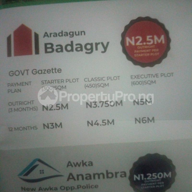 Residential Land Land for sale Aradagun Badagry  Aradagun Badagry Lagos - 0