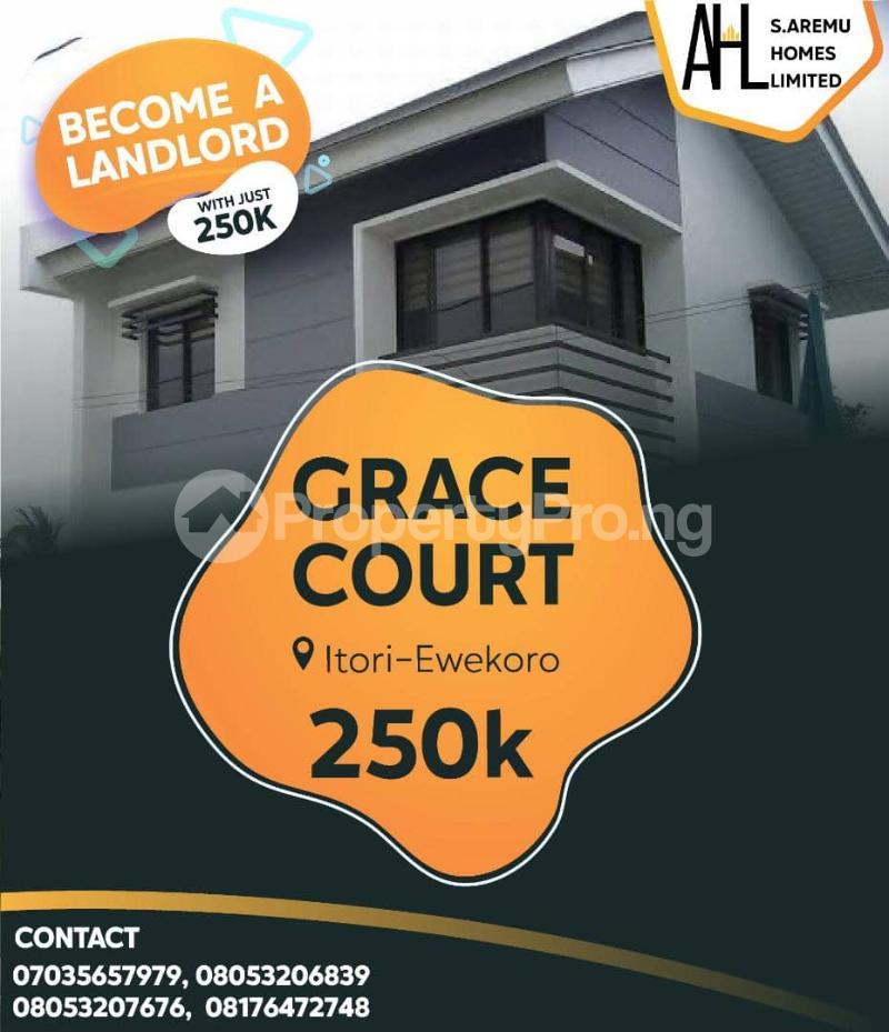 Residential Land for sale Papalanto Ewekoro Ogun - 0