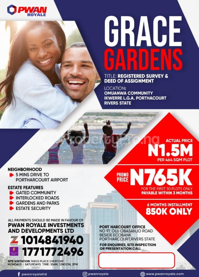 Mixed   Use Land for sale Port Harcourt Rivers - 0