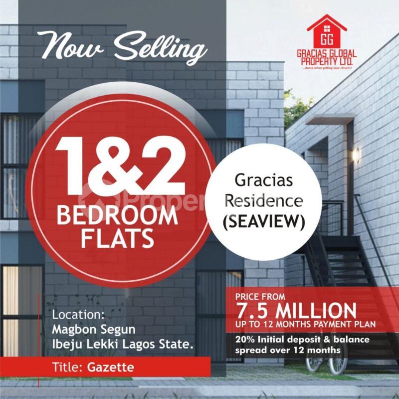 2 bedroom Blocks of Flats House for sale Opposite Poweroil Free Trade Zone Ibeju-Lekki Lagos - 0