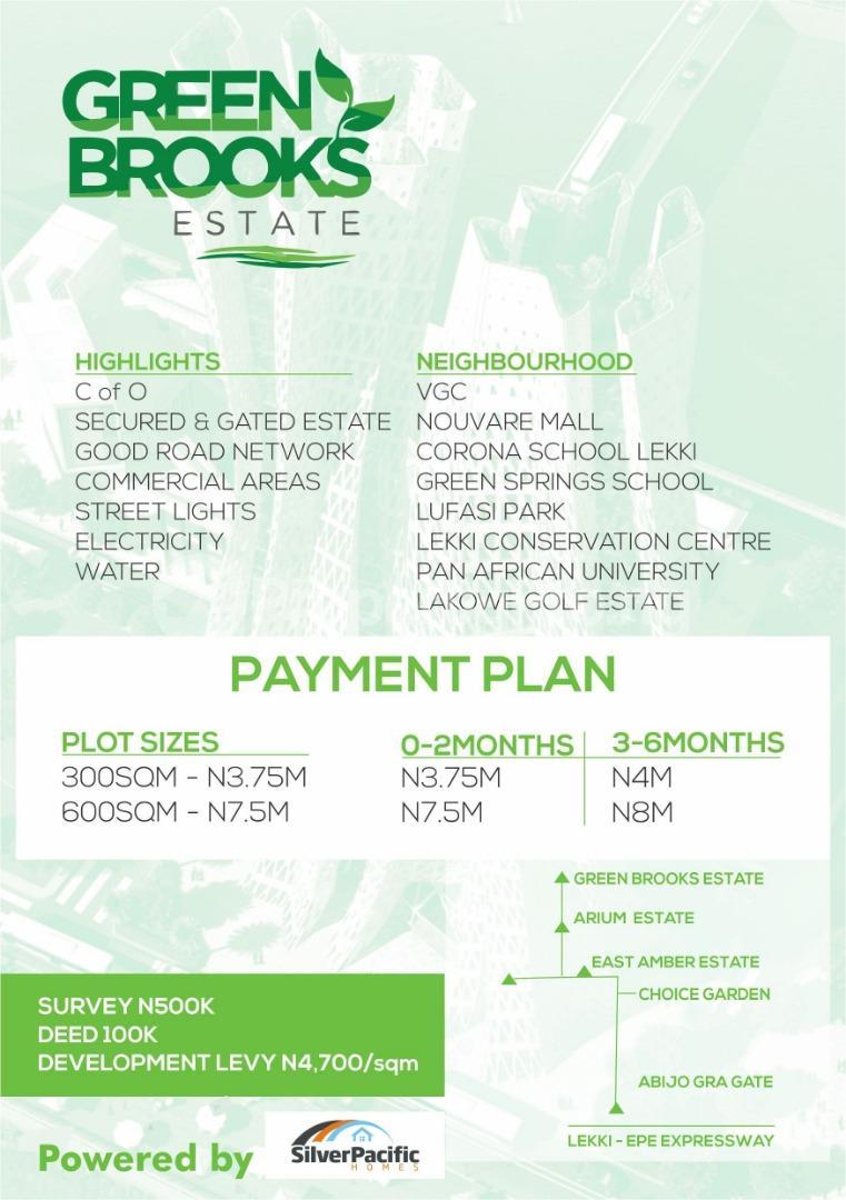 Serviced Residential Land for sale Abijo Gra Abijo Ajah Lagos - 0