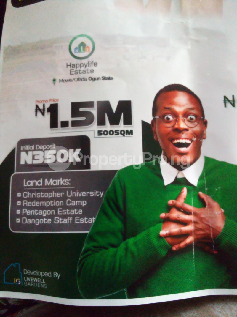 Mixed   Use Land for sale Mowe Ofada Agbara Agbara-Igbesa Ogun - 0