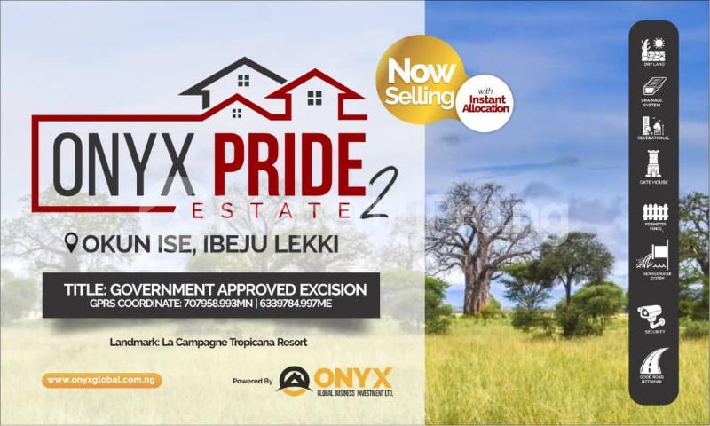 Residential Land Land for sale Okun Ise/Folu, After Eleko Town LaCampaigne Tropicana Ibeju-Lekki Lagos - 5