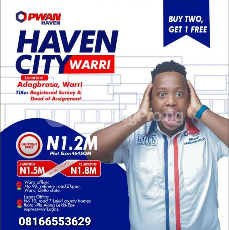 Mixed   Use Land for sale Warri Delta - 0