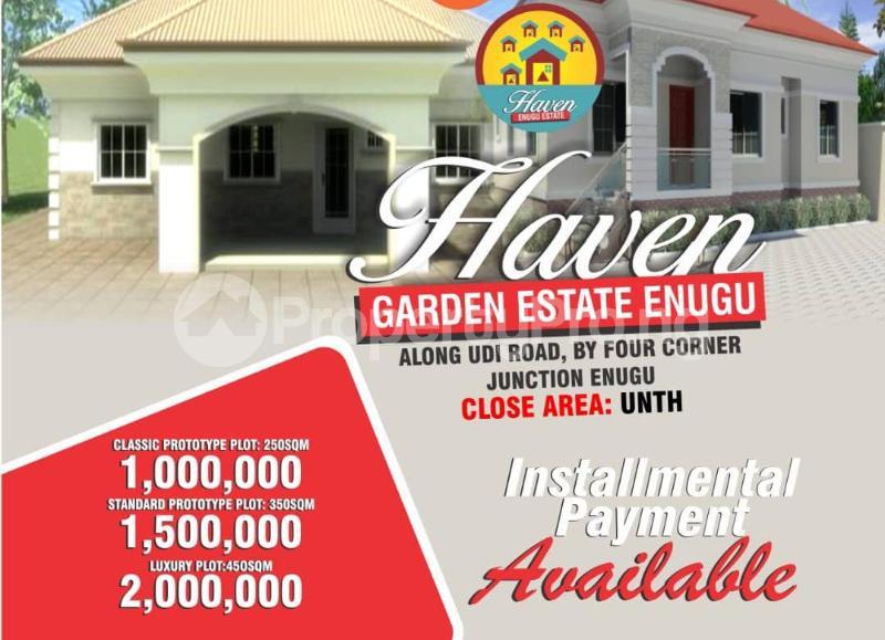 Residential Land Land for sale Along UDI road by four corner junction Enugu Udi Agwu Enugu - 0