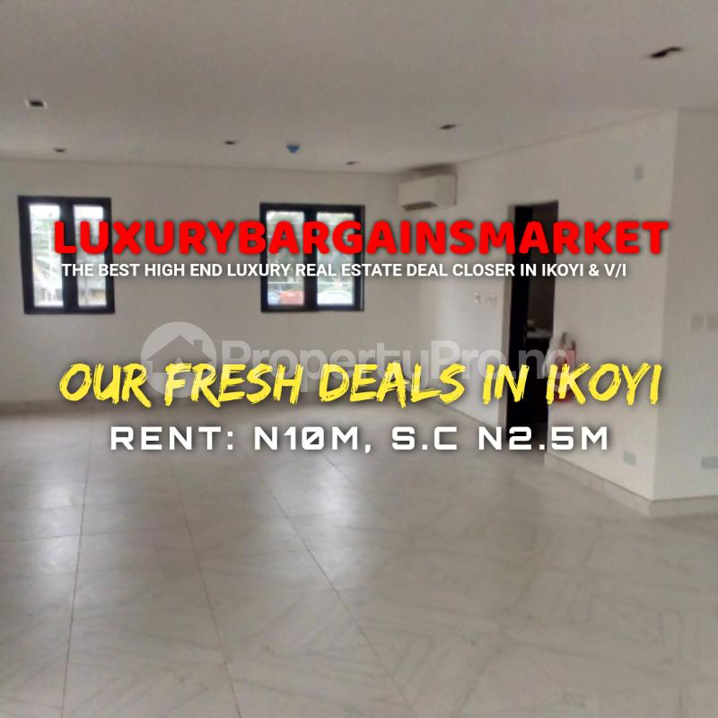 3 bedroom Massionette House for rent Old Ikoyi Ikoyi Lagos - 0