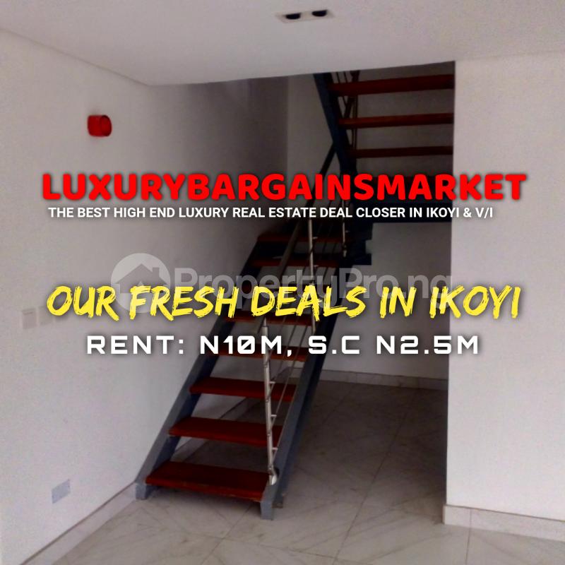 3 bedroom Massionette House for rent Old Ikoyi Ikoyi Lagos - 1