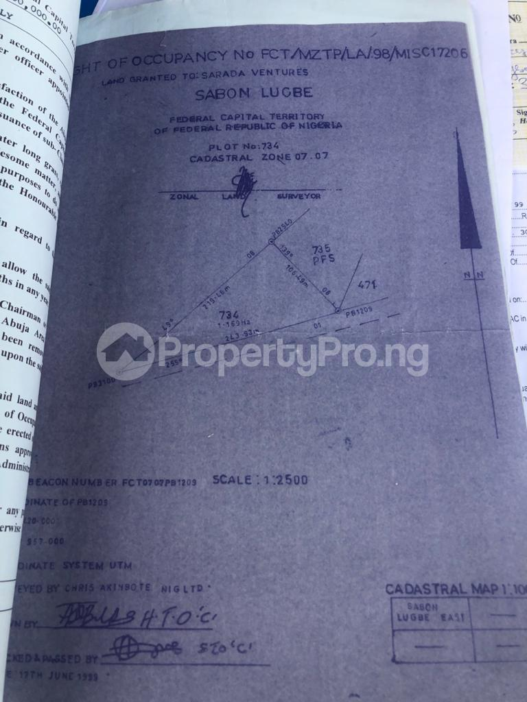 Commercial Land for sale By Conoil Lugbe Abuja - 0