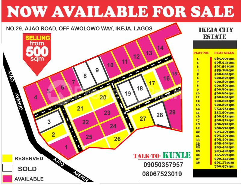 Mixed   Use Land for sale 29,ajao Road Off Awolowo Way Ikeja Obafemi Awolowo Way Ikeja Lagos - 0