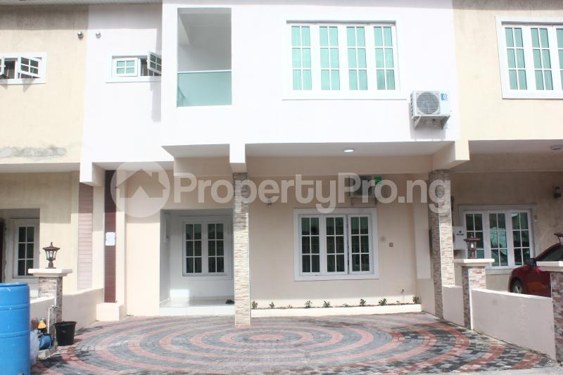4 bedroom Semi Detached Duplex House for shortlet Q1 Unit3 Road1 Lekki Gardens estate Ajah Lagos - 1