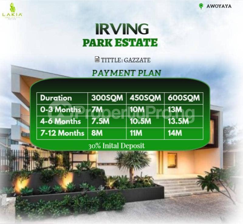 Land for sale Oribanwa Bustop Awoyaya Ajah Lagos - 0