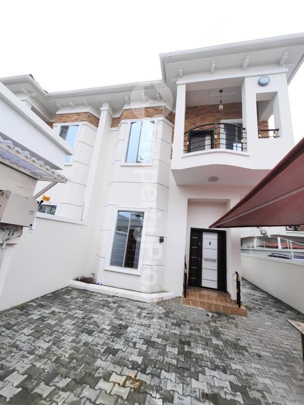 4 bedroom Semi Detached Duplex House for rent Orchid road Chevron lekki lagos state Nigeria  chevron Lekki Lagos - 0