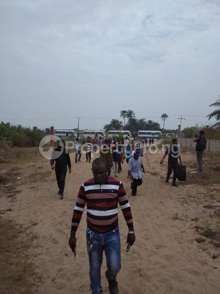 Residential Land Land for sale Olomowewe community facing the coastal line along the Free Trade Zone Lagos Free Trade Zone Ibeju-Lekki Lagos - 3