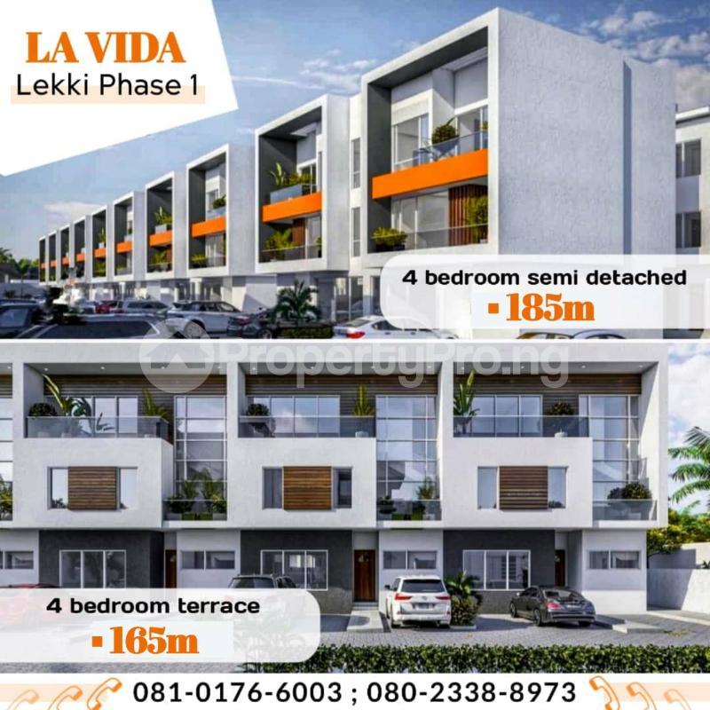 4 bedroom Terraced Duplex for sale Freedom Way Lekki Phase 1 Lekki Lagos - 11