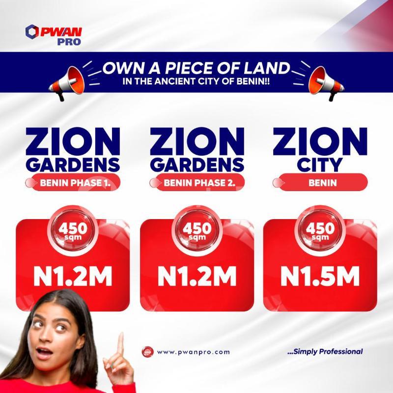 Land for sale Central Edo - 0