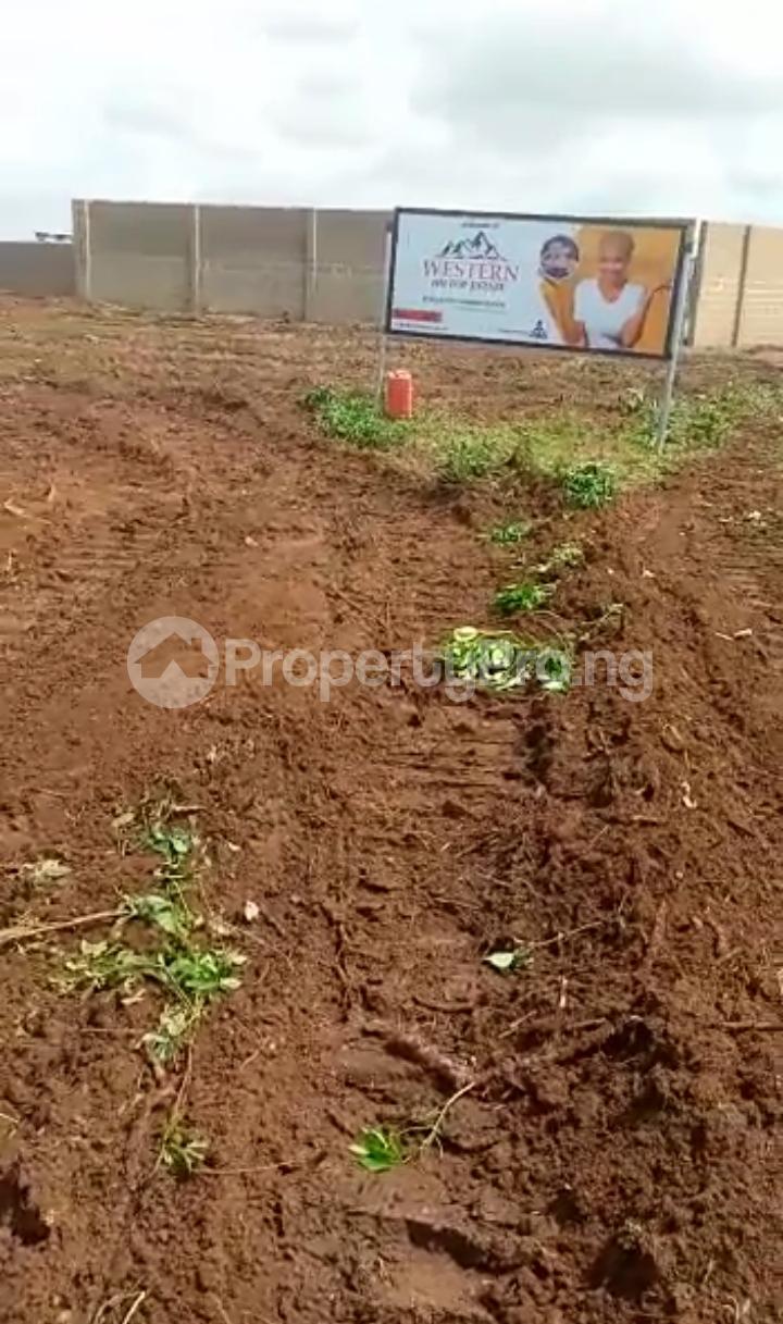 Residential Land for sale Western Hilltop Estate Ikola Alagbado Alimosho Lagos - 1