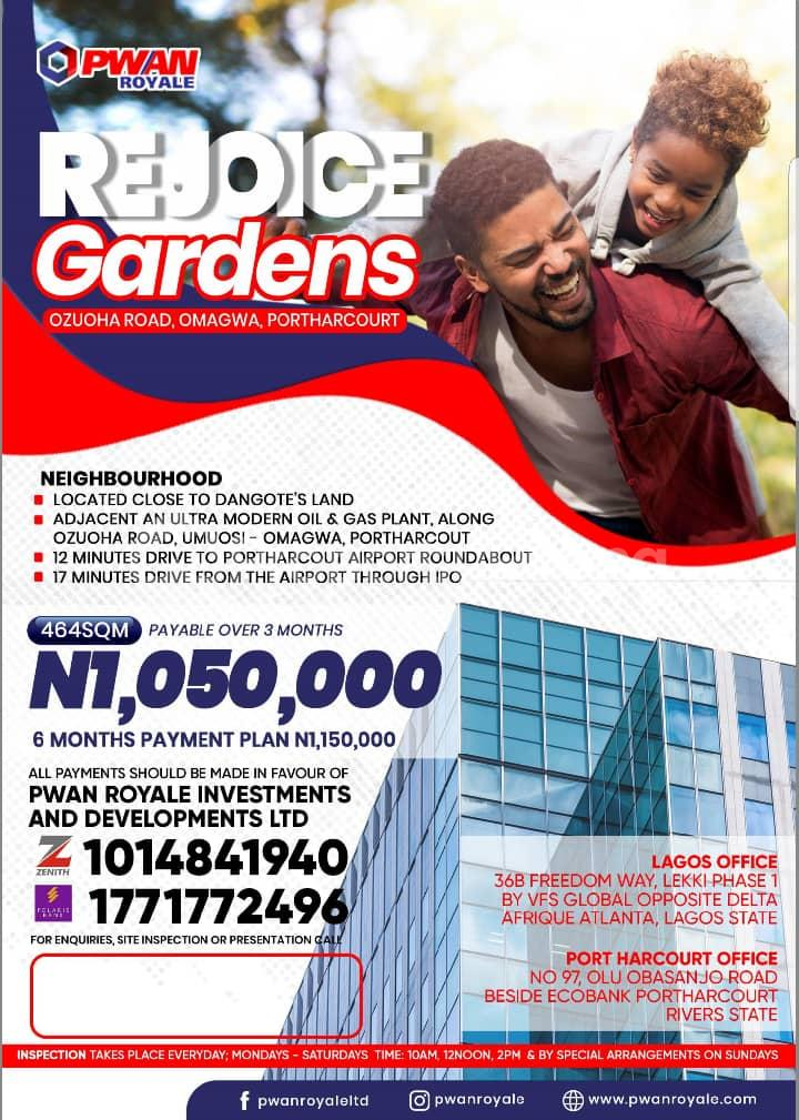 Land for sale Port Harcourt Rivers - 0
