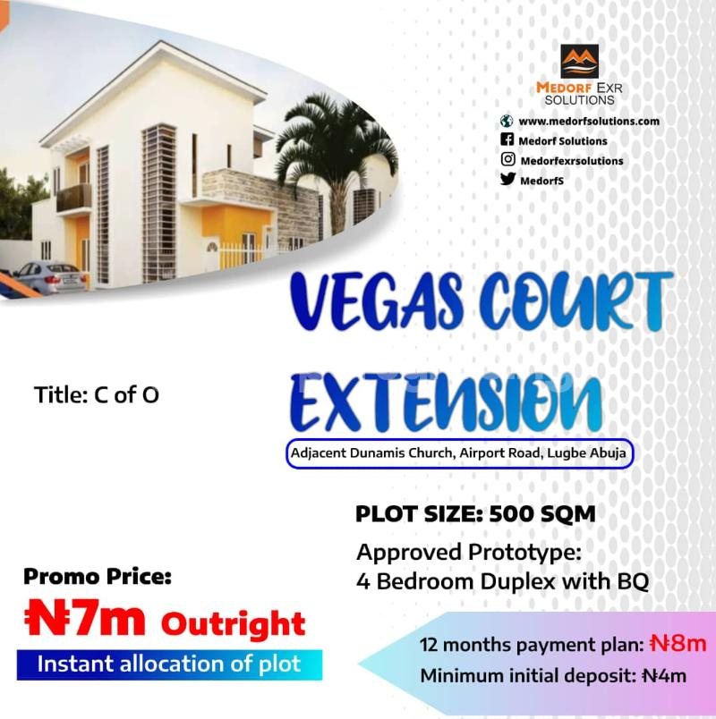 Commercial Land for sale Airport Road Lugbe Abuja - 0