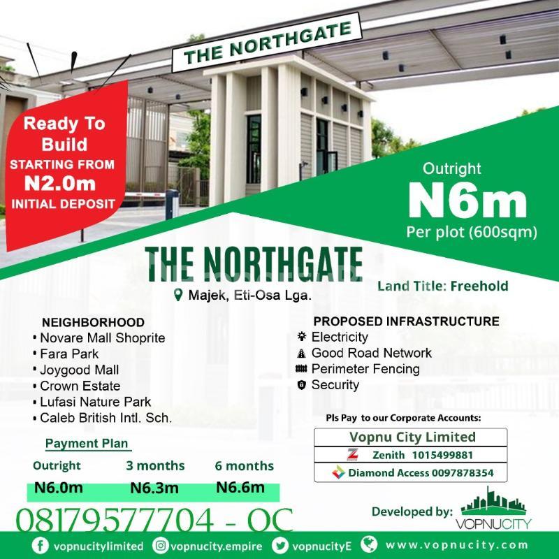 Land for sale Opposite Fara Park Estate By Majek Bus Stop Lekki Lagos - 0