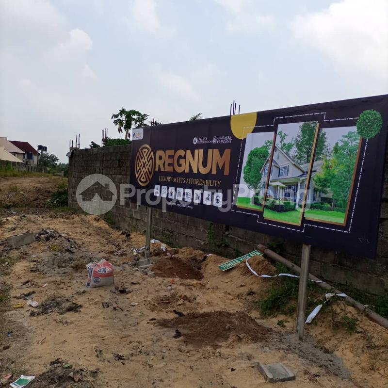 Residential Land for sale Regnum Estate, Eputu London, 2mins Drive From Lekki Epe Expressway. Lekki Lagos - 1