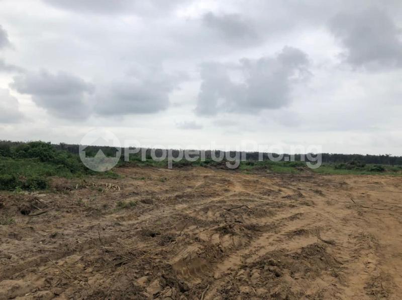 Residential Land for sale Urban Shelter, Otoolu Before La Campaign Tropicana Beach Resort. Ibeju-Lekki Lagos - 1