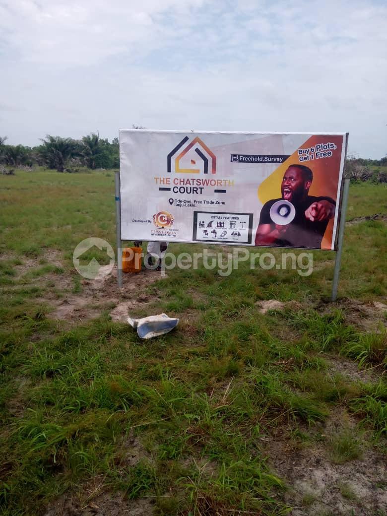 Residential Land for sale Chartworth Court Phase2, Okun Imosan. Ibeju-Lekki Lagos - 1