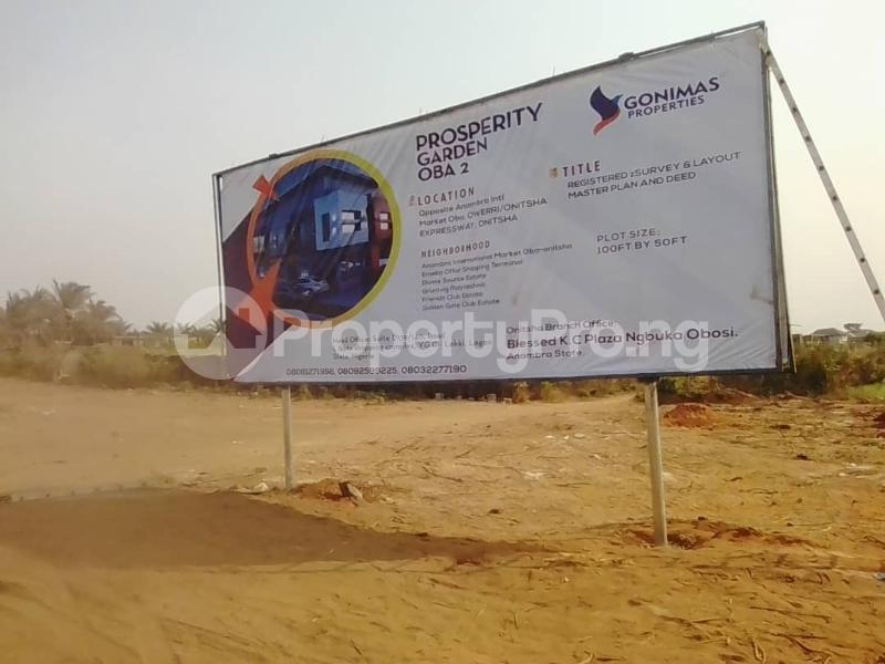 Joint   Venture Land for sale Behind Prestigious Grundvit Polythecnic Institute And Opp. Anambra State International Market By Owerri Road Idemili south Anambra - 2