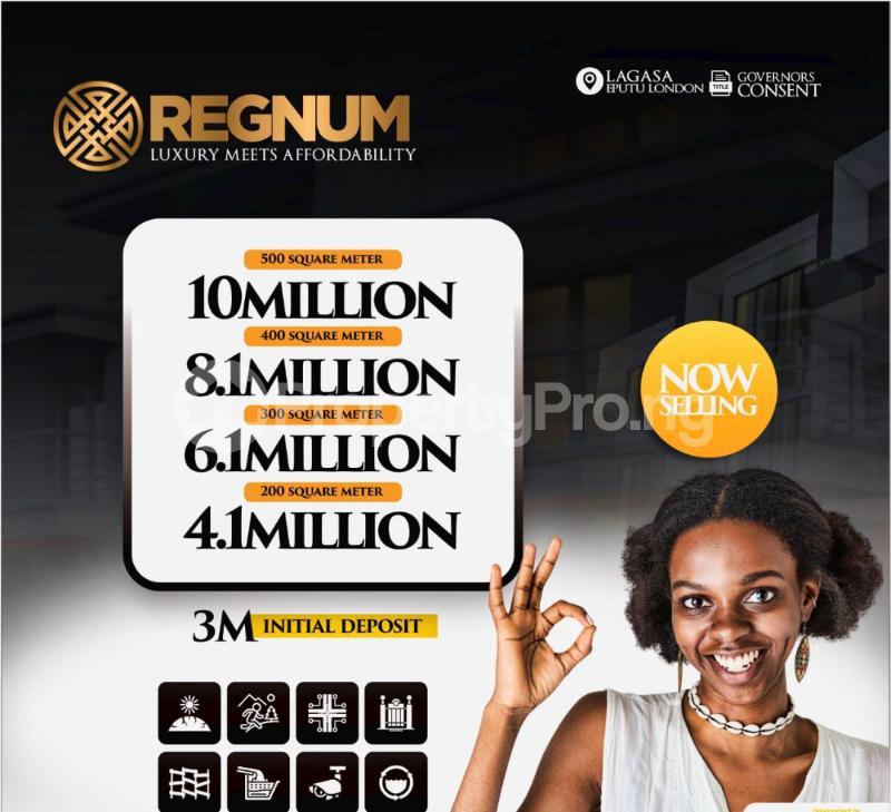 Residential Land for sale Regnum Estate, Eputu London, 2mins Drive From Lekki Epe Expressway. Lekki Lagos - 5