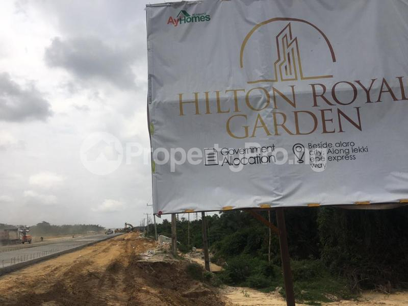 Commercial Land for sale Beside Alaro City, Epe Road. Epe Road Epe Lagos - 1