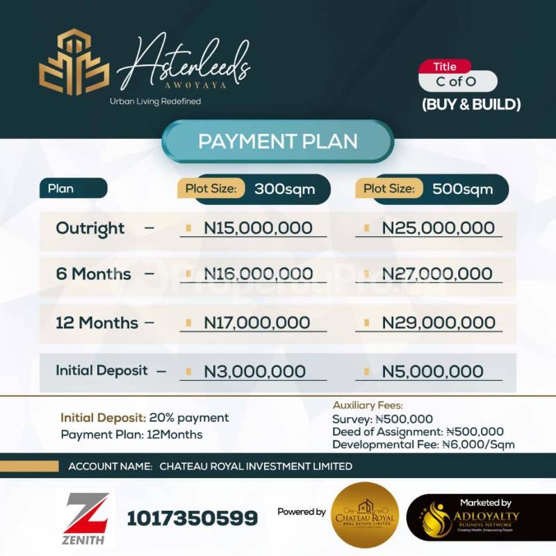 Land for sale   Ajah Lagos - 1