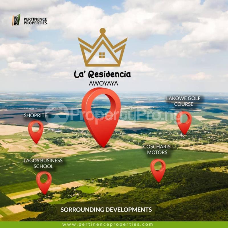 Residential Land for sale Oribanwa /la' Residencia / Lakowe Golf Road , Awoyaya Awoyaya Ajah Lagos - 0