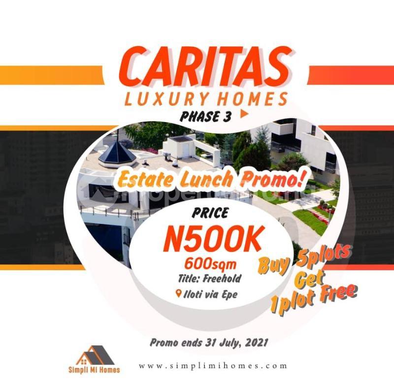 Mixed   Use Land Land for sale Caritax Luxury Homes Phase 4. Ilato Epe, Lagos State Epe Road Epe Lagos - 0