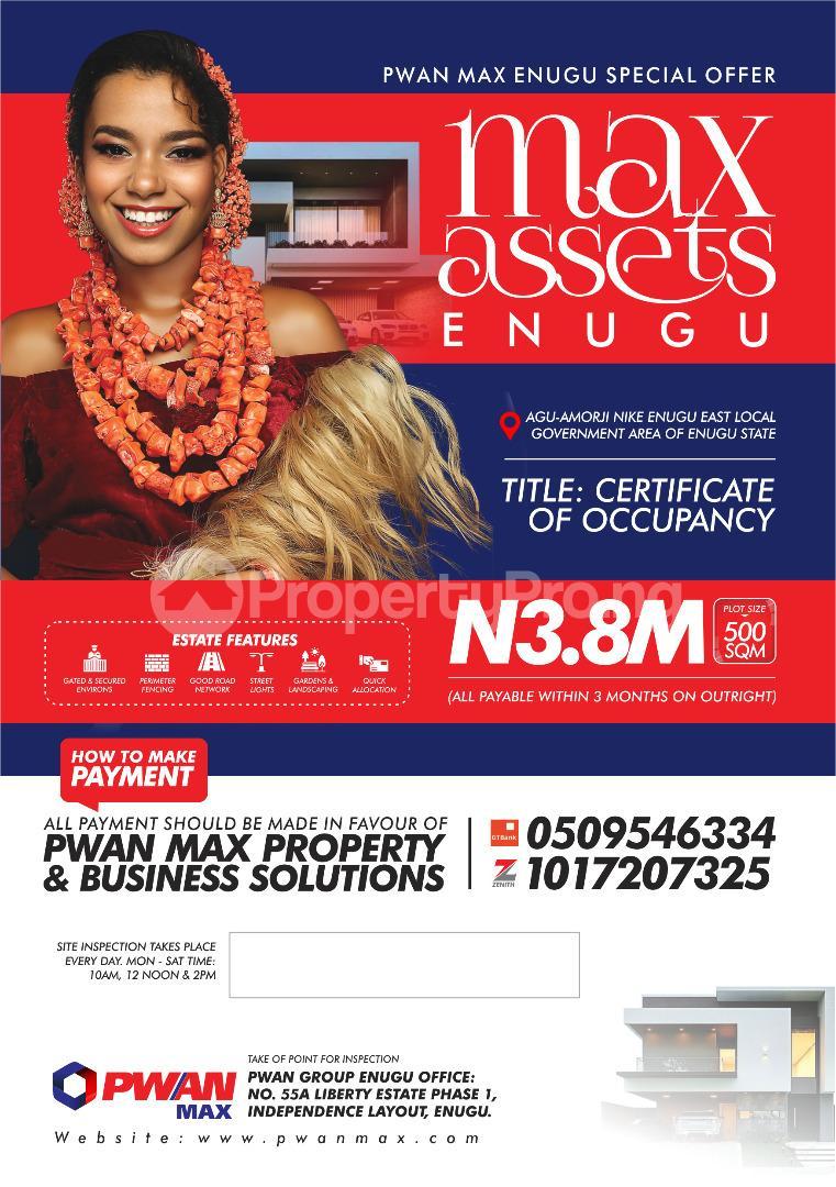 Residential Land Land for sale Max Asset Enugu Enugu - 0