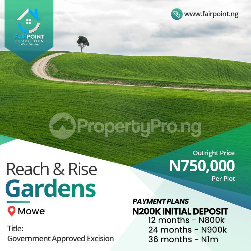 Residential Land Land for sale Mowe ofada Extension, Ogun State Abeokuta Ogun - 0