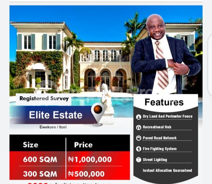 Mixed   Use Land for sale Onigbedu Road, Ewekoro Itori Ewekoro Ogun - 1