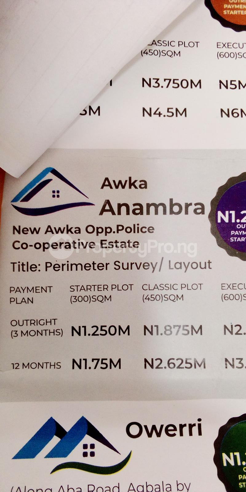 Residential Land Land for sale New Awka, Opposite Police Co-operative Estate  Awka South Anambra - 0
