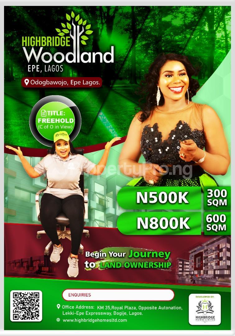 Mixed   Use Land Land for sale Woodland Estate, Epe Epe Road Epe Lagos - 0