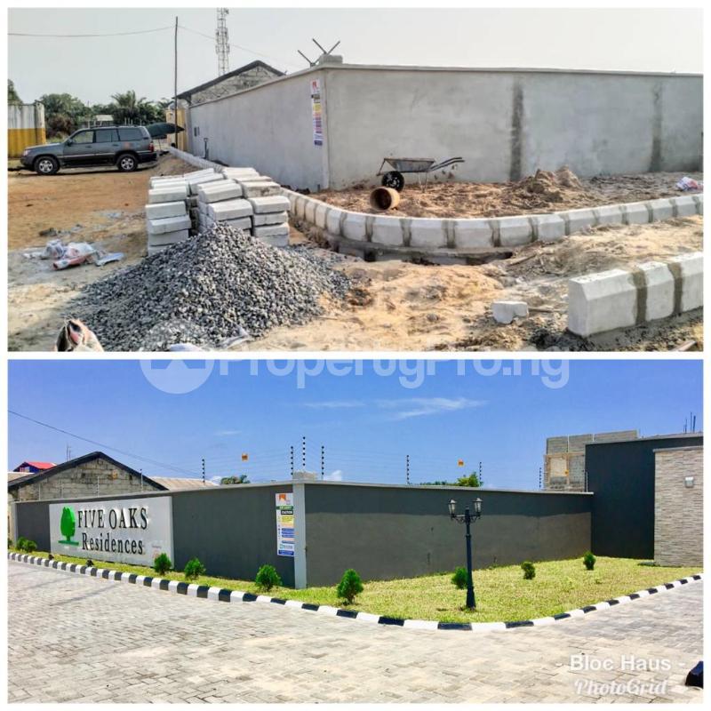 Serviced Residential Land Land for sale Five Oak Estate, Ibeju Lekki. Eleko Ibeju-Lekki Lagos - 2