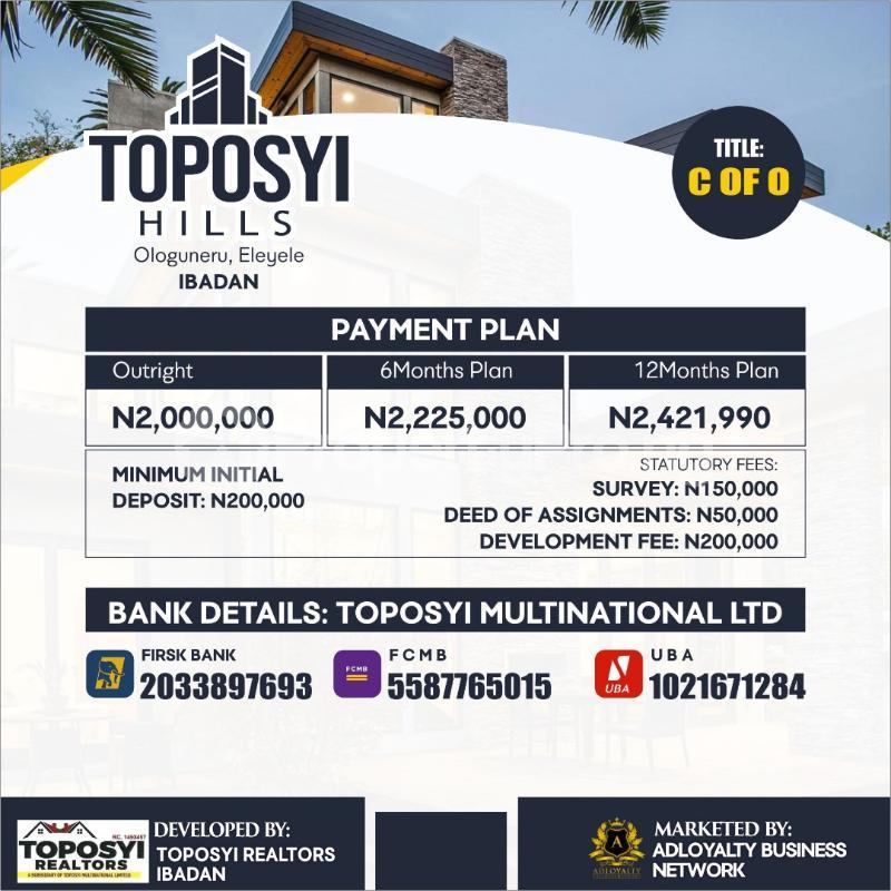 Mixed   Use Land Land for sale Ologuneru Eleyele Ibadan Oyo - 1