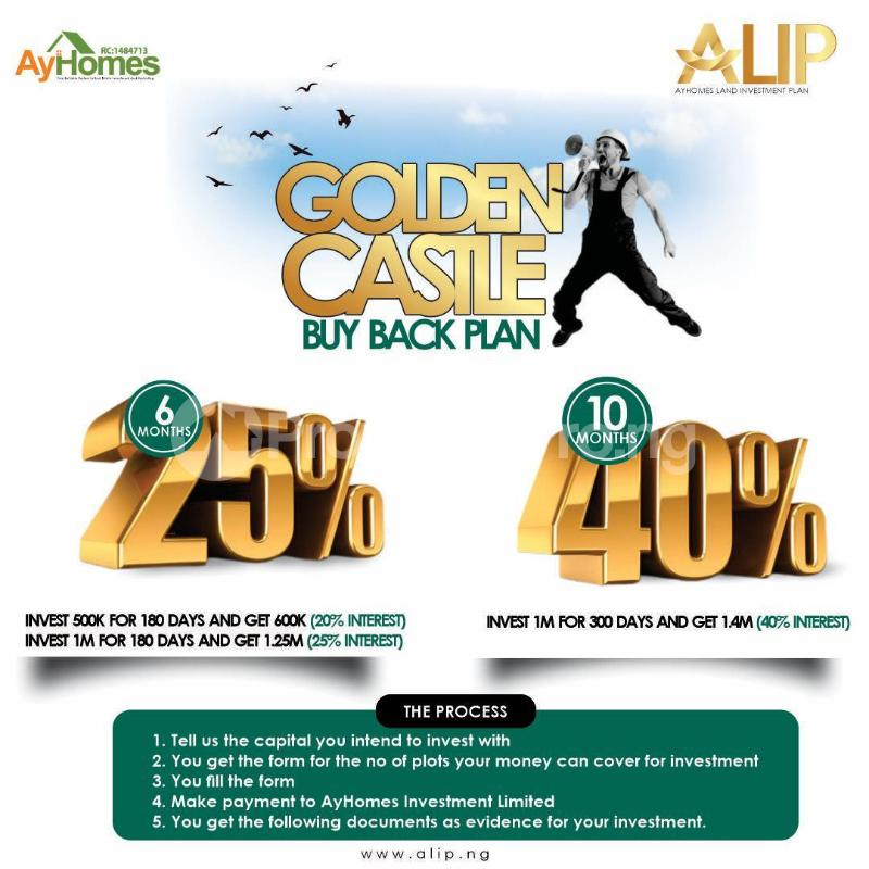 Mixed   Use Land Land for sale Ayhomes investment buy back packages  Origanrigan Ibeju-Lekki Lagos - 1