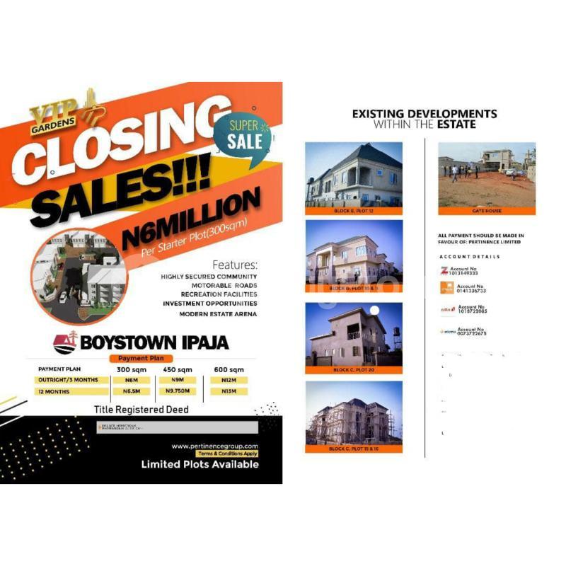Residential Land Land for sale Inside BoysTown Ipaja Legos Boys Town Ipaja Lagos - 0