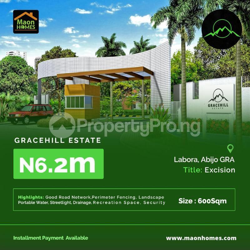 Residential Land for sale Gracehill Estate In Labora Abijo Gra Ajah Lagos - 0